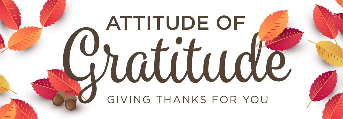 HELP US SPREAD THE ATTITUDE OF GRATITUDE