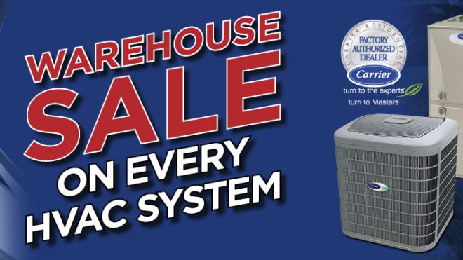 Warehouse Sale Makes HVAC Compatibility Easy & Affordable