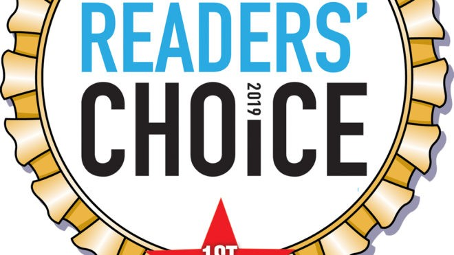 Press Release: Masters Wins Readers Choice Award 2019