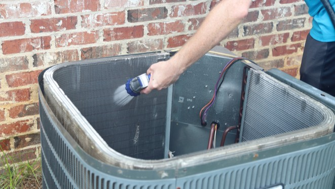 How to Clean Condenser Coils