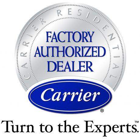 carrier factory authorized dealer logo