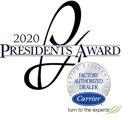 carrier presidents award 2020