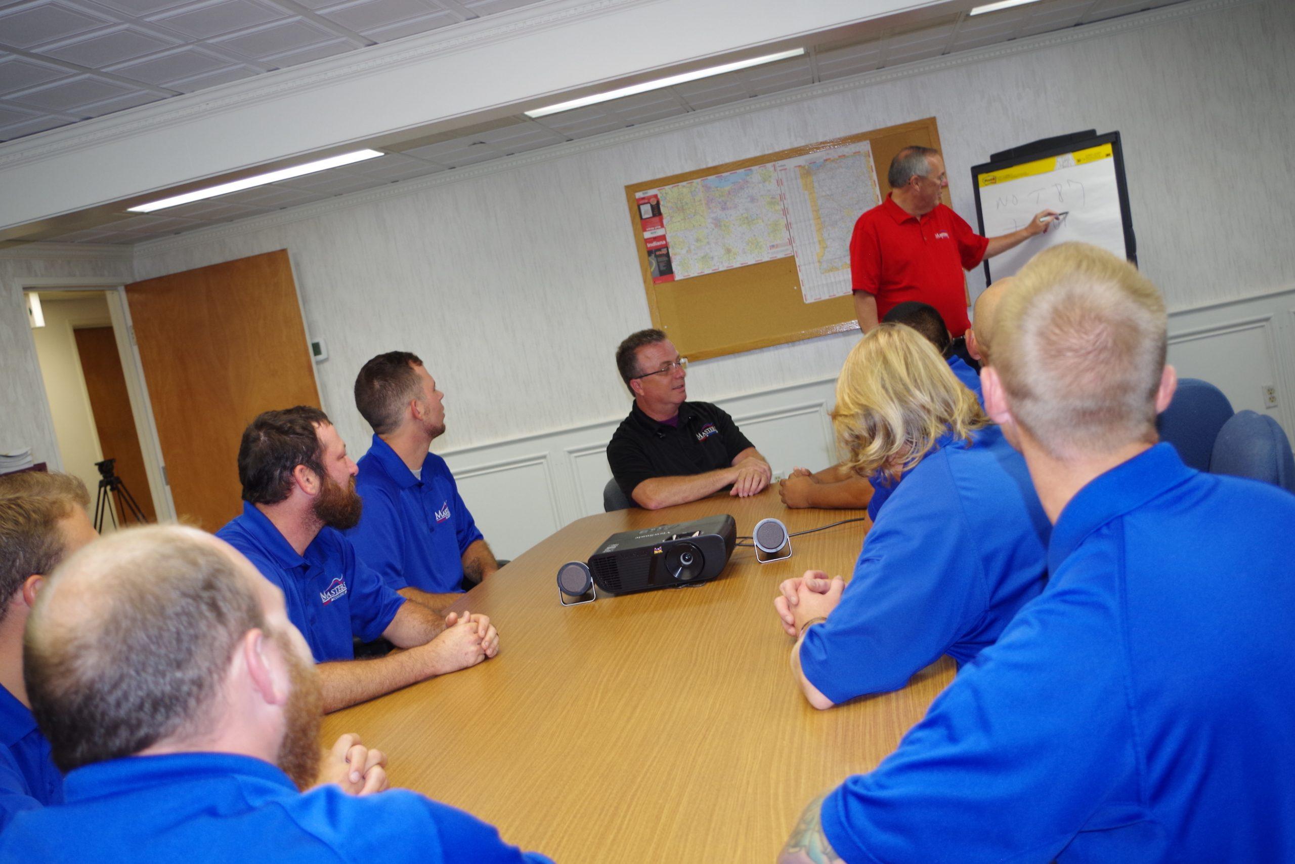 Masters Training Room